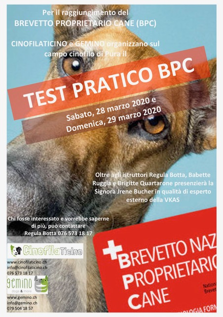 NHB-BPC TEST PRATICO